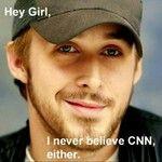 Ryan Reynolds.  Hey girl, I never believe CNN either.