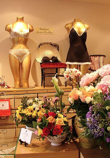 bespoke lingerie source in Paris: Louise Feuillère, Création de lingerie sur mesure, corsets, corseterie sur mesure, vente et diffusion
