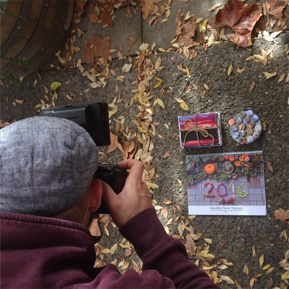 Thanks to Tasker for coming by today to take photos of a few of the gems Anna and I will be vending at the annual Beatnik Craft Fair on 12/20. Mark your calendars because it's going to be a blast! Speaking of calendars- floral months calendars will be for sale along with prints photo ornaments hand dyed towels sugar scrubs candles and more. We're so excited!  #monthlyfloraltherapy