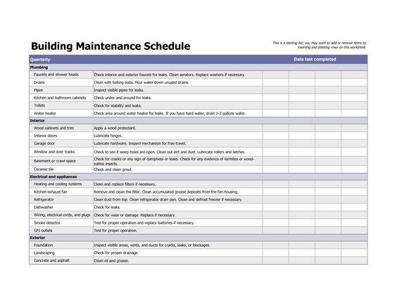 Building Maintenance Log Template. best 20 vehicle maintenance log ...