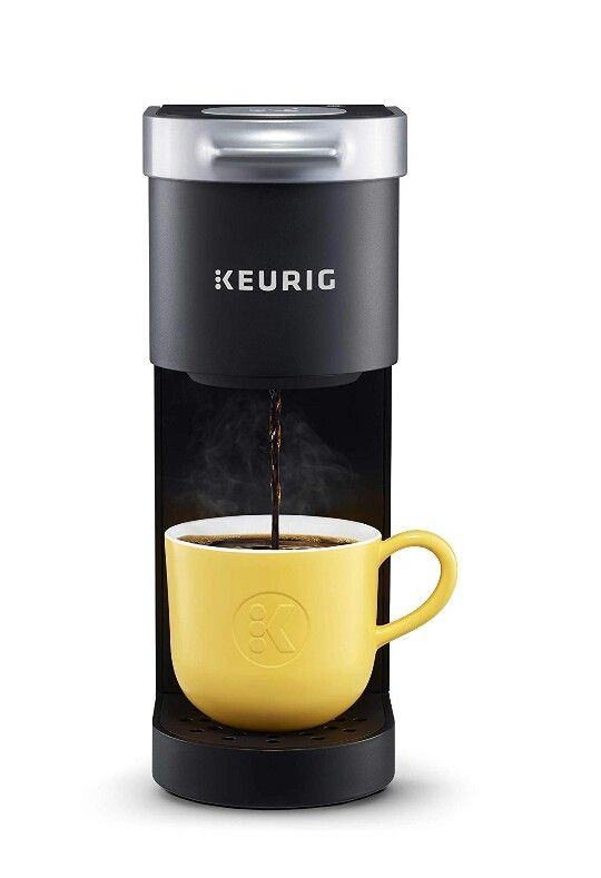 Keurig K Mini Coffee Maker Single Serve K Cup Pod Coffee Brewer 6 To 12 0z Brew Sizes Black In 2020 Coffee Pods Single Coffee Maker Coffee Brewer