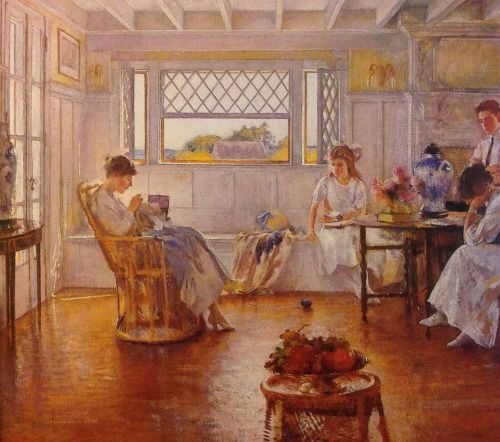 My Family…a painting by Edmund Tarbell from 1914….New Hampshire