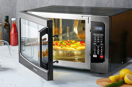 10 Toshiba Ec042a5c Bs Convection Microwave Ovens With Smart Sensor Led Lighting Microwave Convection Oven Microwave Oven Best Convection Microwave