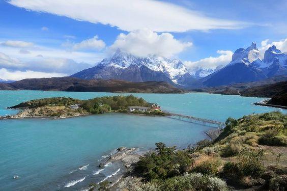 Pehoe Lake, Torres del Paine, #Patagonia