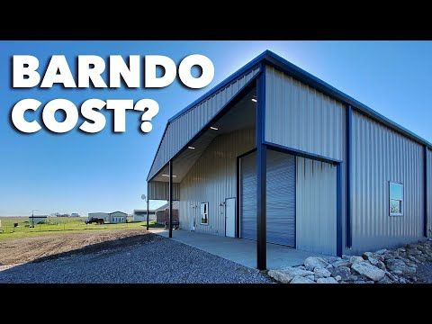Cost Of Building A Barndominium Home Texas Best Construction Youtube In 2020 Small House Barndominium Construction Work