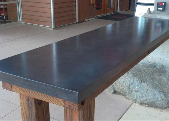 Countertop Resurfacing Materials : stained concrete countertops concrete table top concrete countertop ...