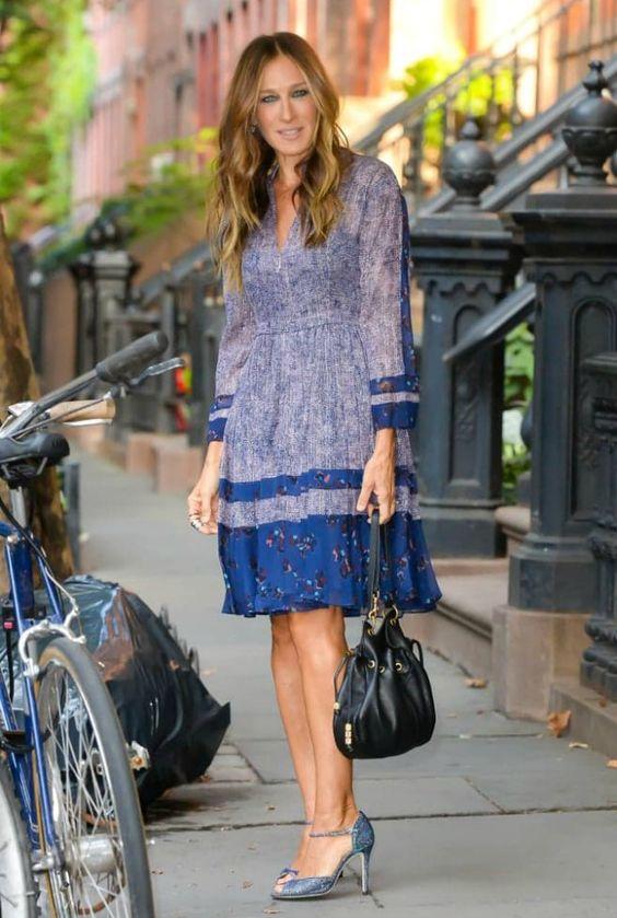 Moda para mulheres com 50 anos ou mais: Sarah Jessica Parker