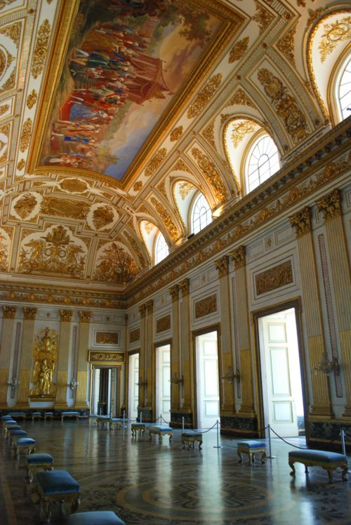 Palace of caserta throne room caserta the versailles of italy pinterest photos palaces - Interior designer caserta ...