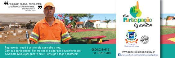 Filipeta - Câmara Municipal de Ipatinga