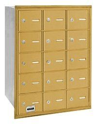 4B+ Horizontal Mailbox - 15 A Doors - Gold - Rear Loading - USPS Access by Salsbury Industries. $442.24. 4B+ Horizontal Mailbox - 15 A Doors - Gold - Rear Loading - USPS Access - Salsbury Industries - 820996418258