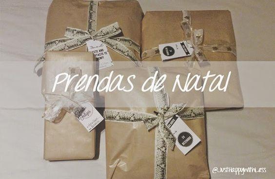 Just happy with less: Prendas de Natal