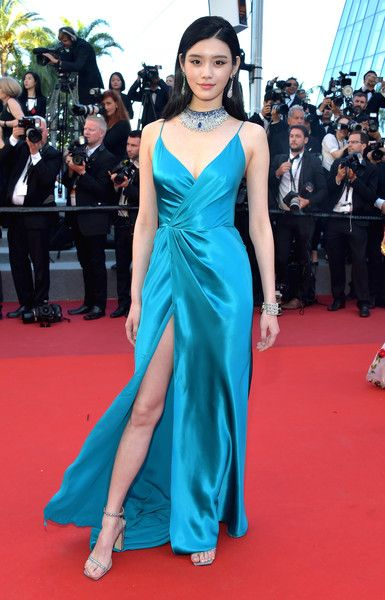 Ming Xi in Alberta Ferretti - The Dreamiest Dresses on the 2017 Cannes Red Carpet - Photos