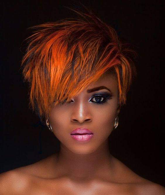 Brilliant These Funky Short Weave Hairstyles Are So Fly Looks Include Burnt Short Hairstyles Gunalazisus