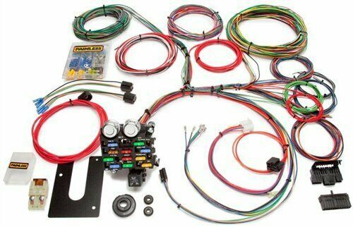 Ebay Sponsored Painless Performance Products 10101 21 Circuit Classic Customizable Chassis Harn Morris 4x4 Center Circuit Harness