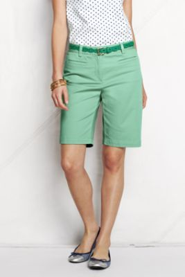 "Women's Regular Fit 2 10"" Chino Bermuda Shorts"