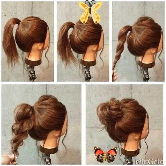Easy Hairstyles For Medium Hair Quick Easy Hairstyles Easy Hairstyles For Medium Hair Quick Easy Hairstyle Frisyrer Snabba Enkla Frisyrer Vardagsfrisyrer