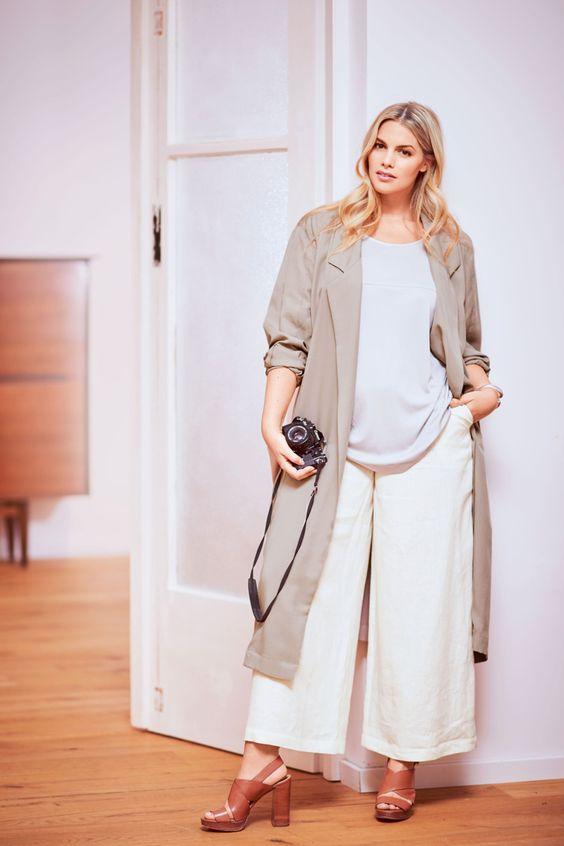 Пальто с двухшовными рукавами - выкройка № 128 А из журнала 2/2016 Burda – выкройки пальто на Burdastyle.ru