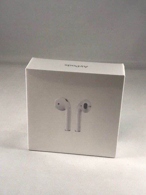Apple Airpods Sealed White Mmef2am A Genuine New Retail Box Free Shipping Ebay Link Cell Phone Accessories Airpod Case Retail Box