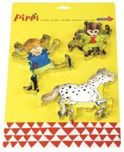 Pippi Langstrumpf 44.3628.00 - Pippi Austechformen: Amazon.de: Spielzeug