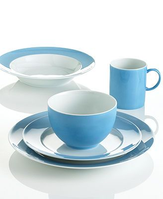 THOMAS by Rosenthal Dinnerware, Sunny Day Blue Collection