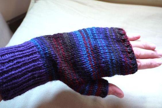 2 Needle Mittens Knit Pattern : Pinterest   The world s catalog of ideas