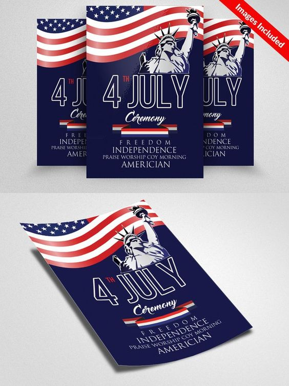 Independence Day Flyer Template - independence day flyer