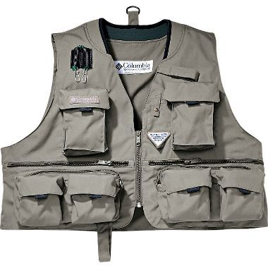 On sale columbia henry 39 s forks iii fly fishing vest at for Cabelas fishing vest
