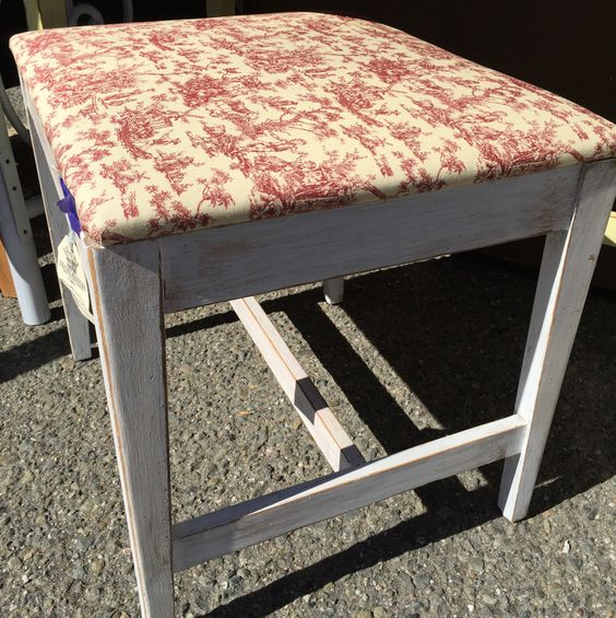 Awesome bench for sale by Shabby Restore (www.shabbyrestore.com)- seen today at the Treasure Island Flea in San Francisco. #shabby #restore