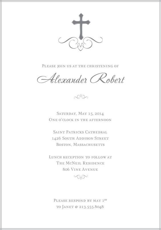 free christening invitation templates photoshop | baptism, Birthday invitations