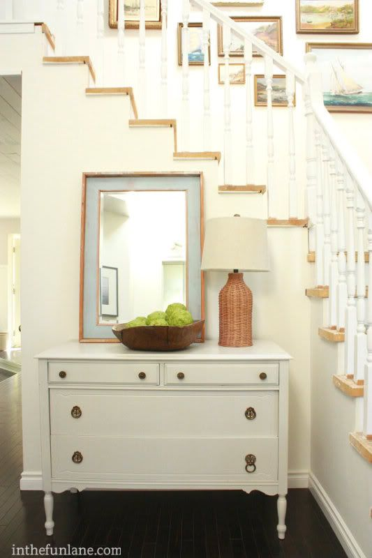 Entry Foyer Chests : Entry stairs ways and foyer mirror on pinterest