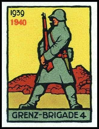 Soldier Stamps Border troops,