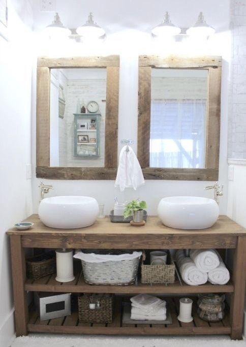 34+ Real wood bathroom furniture model