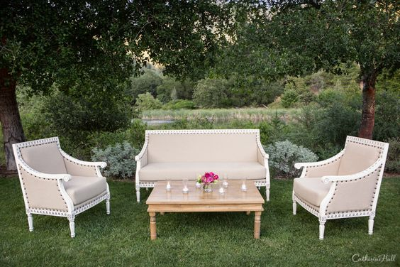 Outdoor Seating Arrangements, Calistoga Ranch