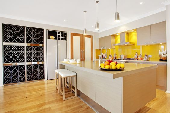 Wine storage chesterfield and display on pinterest for Mcdonald jones kitchen designs