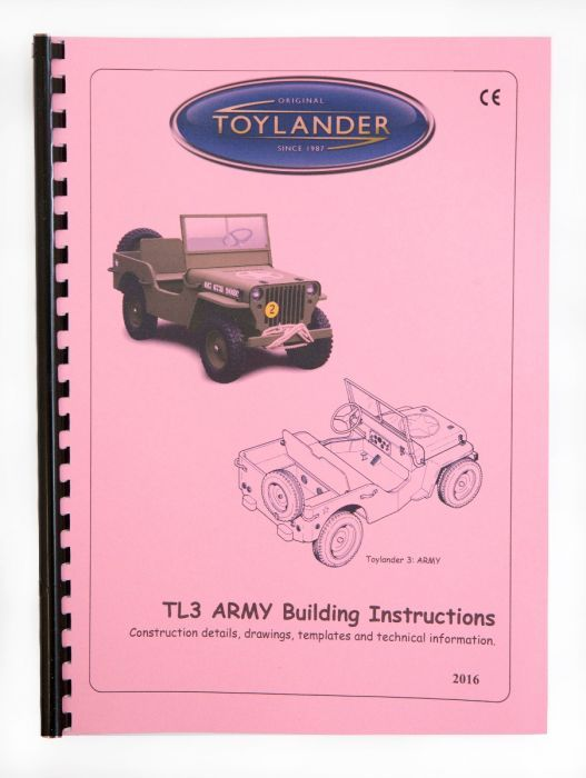 p><strong>Build Manual</strong> for Toylander 3 based on the