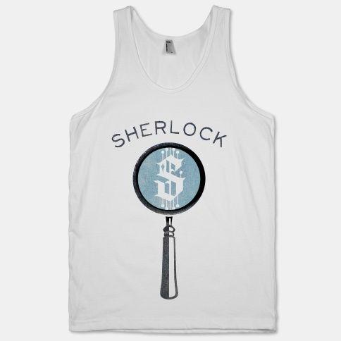 I want this sherlock shirt!