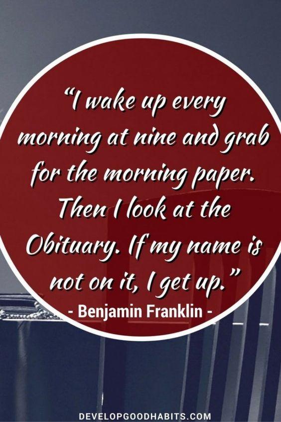 Benjamins Franklin Funny quotes