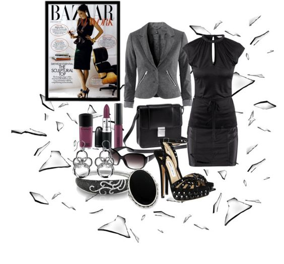 """""""Shattering The Glass Ceiling"""" by deborah-simmons ❤ liked on Polyvore"""