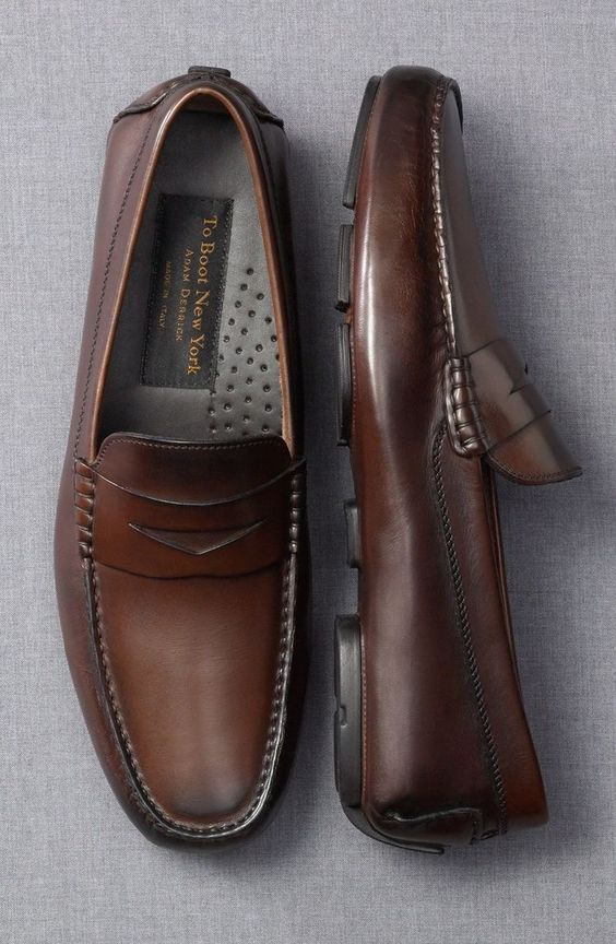 good color and style for no-laces style shoe I want loafer or driver