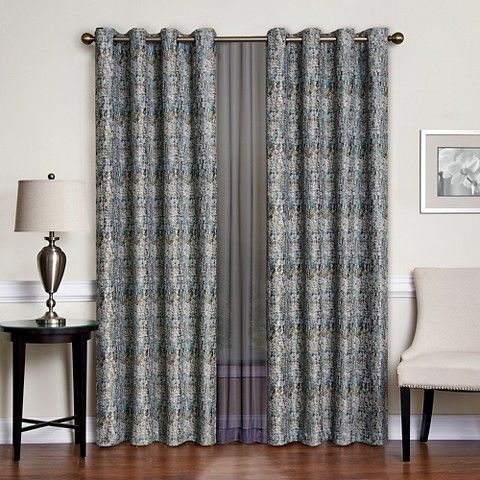 Curtains | Target Vue Signature Abstraction Curtain Panel, $60 per ...