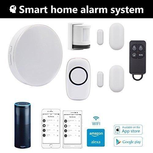 Wireless Smart Home Alarm System Anti Theft Siren Multi Functional Diy Family Alarm S Alarm Systems For Home Home Security Alarm System Smart Home Alarm System