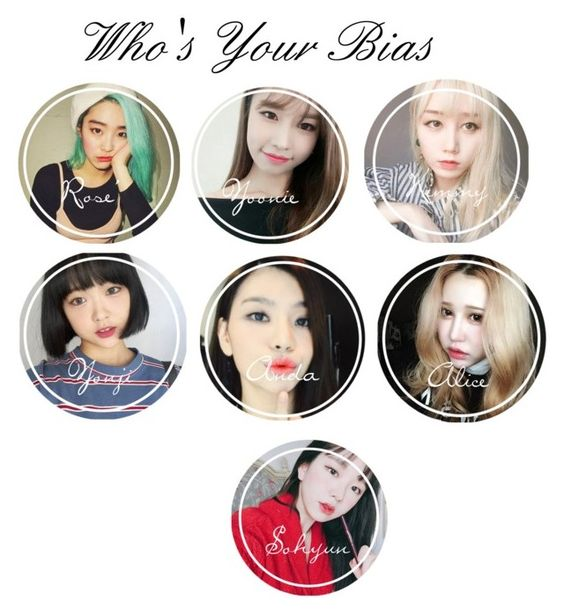 """""""₩ n a d ; who is your ₩NAD bias?"""" by wnad-official ❤ liked on Polyvore"""