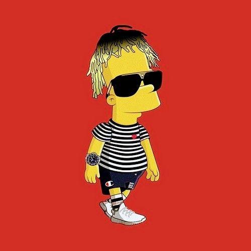 Pin On Lll Cartoon rapper wallpaper rich kid