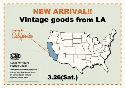 """NEW ARRIVAL !!"" Vintage Goods from LA"