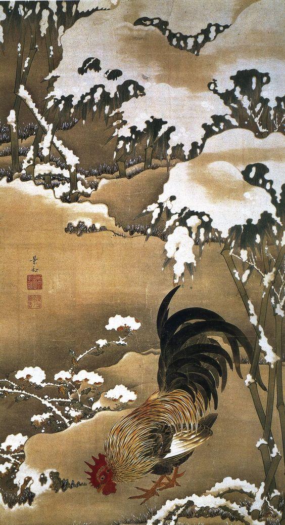 Japan, Ito Jakuchu, - 1716–1800 - Edo Era