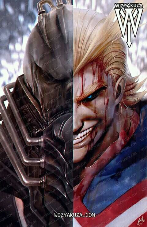 All For One Vs All Might Personajes De Anime Heroe Wallpaper De Anime