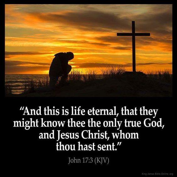 John 17:3 KJV