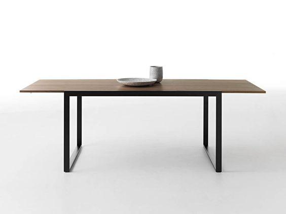 Gartenmobel Weiss Eisen : Ausziehbarer Tisch aus Holz WOW!PLUS by HORMIT  Design Graphite