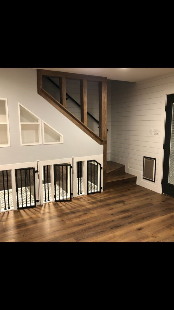 Remodelbasement Under Stairs Dog House Dog Rooms