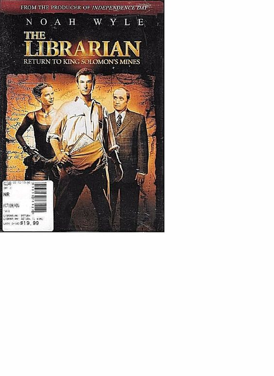 THE LIBRARIAN RETURN TO KING SOLOMON'S MINES New SEALED DVD FREE S&H CONT US